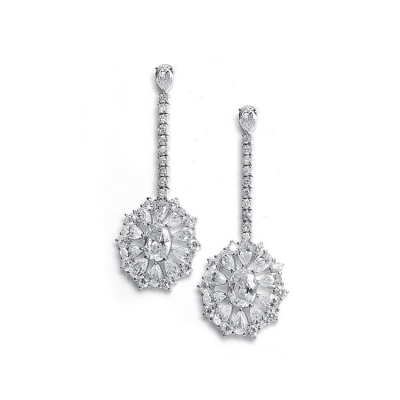 Sinclair Bridal Earrings