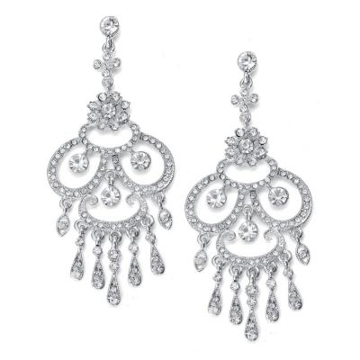 Riva Wedding Earring : XL Statement Chandelier LAST PAIR