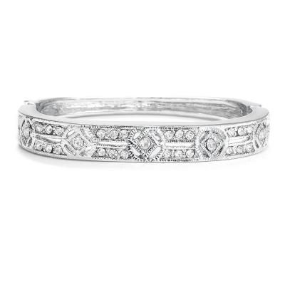 Margaux Bridal Bracelet: Antique-style Bangle/Bracelet