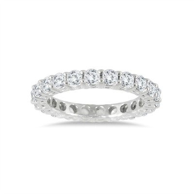 Eternity Band in Sterling Silver (Medium)