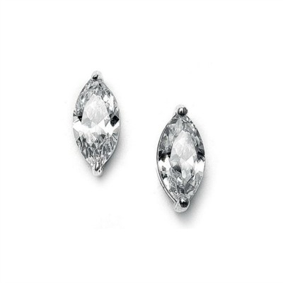 Margeaux Sterling Silver Bridal Earrings