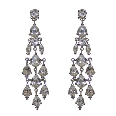 Skye Earring: Hollywood-Style Chandelier Earring