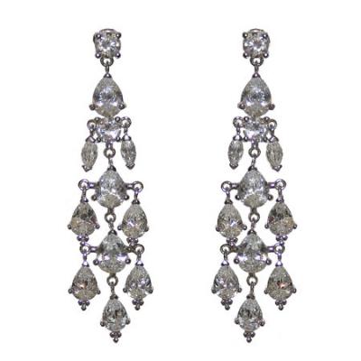 Bridal Earrings - THE IVORY ROOM | Drop Earrings | Wedding ...