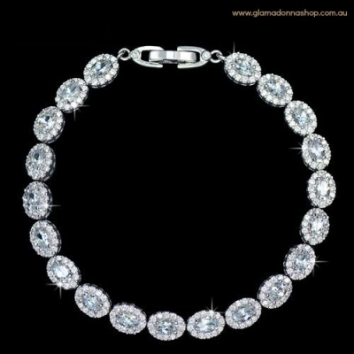 Bridal Bracelets & Wedding Bracelets with Pearls, Crystal and Cubic Zirconia