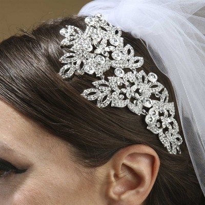Phoebe Bridal Head-Piece: Crystal Couture with Flexible Comb