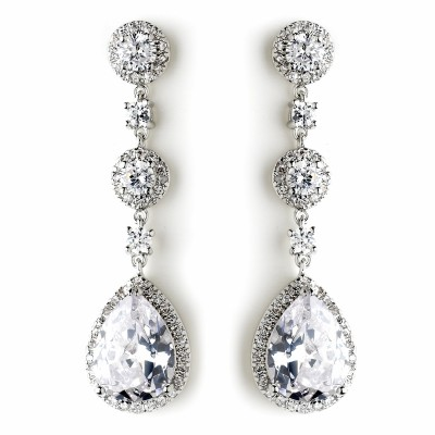 Melissa Earring: Stunning Luxury Teardrop