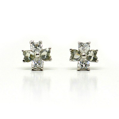 Christina Sterling Silver Bridal Earrings