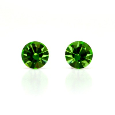 Claire Swarovski Crystal Earring - Apple