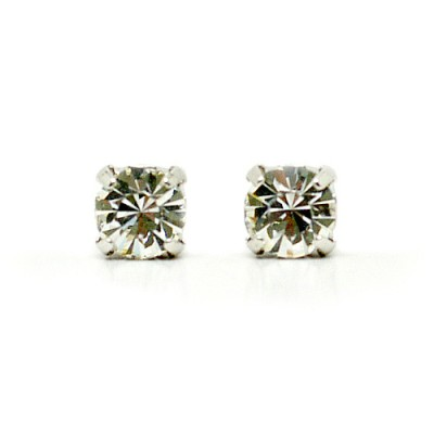 Mirabelle Swarovski Crystal Earring (Mini) - Clear