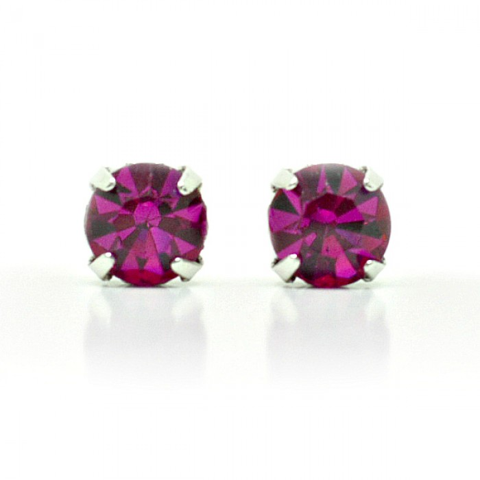 earrings fuschia pointe library virtual collections of sandi