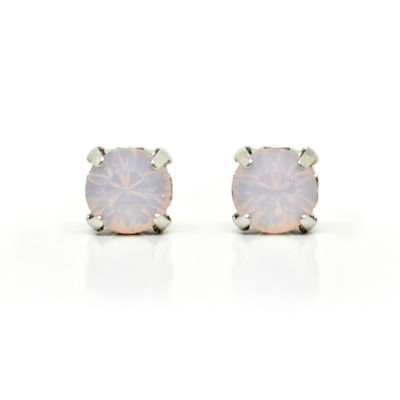 Mirabelle Swarovski Crystal Earring (Mini) - Rose