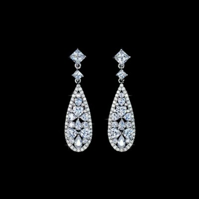 Carlie Bridal Earrings