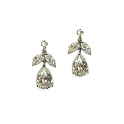 Claudine Bridal Earrings