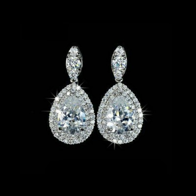 Marian Bridal Earrings