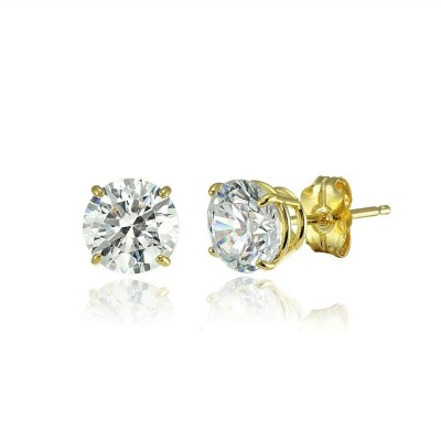 Octavia Bridal Earrings (Gold)