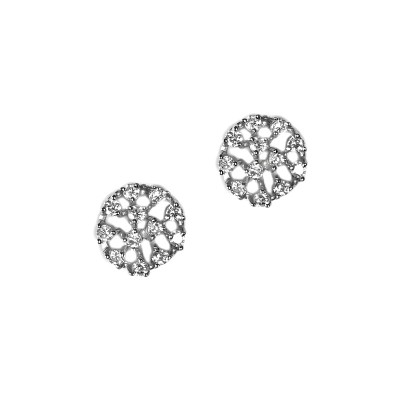 Tricia Sterling Silver Bridal Earrings