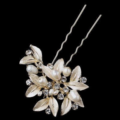 Madden Bridal Hairpin (Champagne)