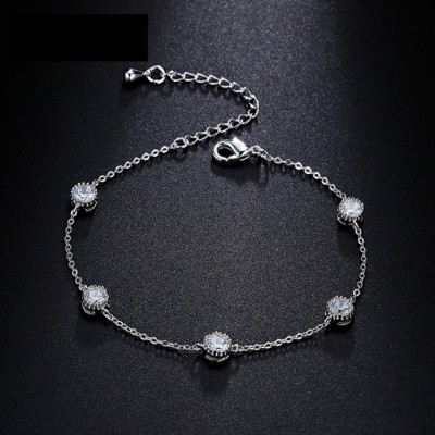 Tiffany-Style 'Diamond By The Yard' Sparkling Bracelet