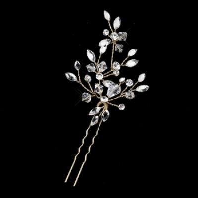 Cate Bridal Hairpin (Gold)
