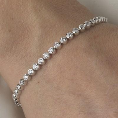 Bridal bracelets bridal jewellery the ivory room online store arabella bridal bracelet junglespirit Choice Image