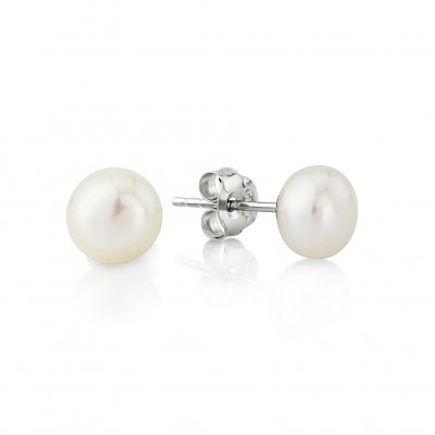 Odette Pearl Earring: Classic Freshwater Pearl Stud