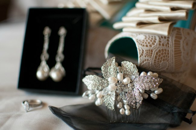 real brides vintage wedding jewelry