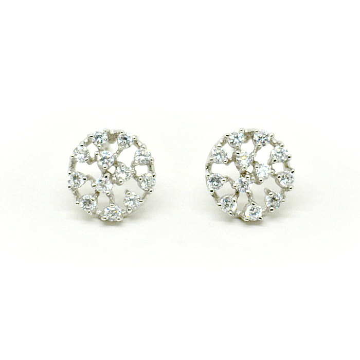 vintage bridal jewellery stud earring